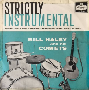 Bill Haley And His Comets ‎- Strictly Instrumental (LP) (G-/G-)
